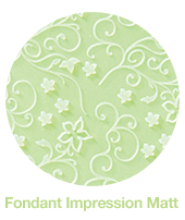 Fondant Vines Impression Matt