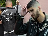 EXCLUSIVE: Former One Direction singer turned solo act Zayn Malik looking very hip as she heads to a photo shoot in West Hollywood, Ca\n\nPictured: Zayn Malik\nRef: SPL1285374  180516   EXCLUSIVE\nPicture by: GoldenEye /London Entertainment\n\nSplash News and Pictures\nLos Angeles: 310-821-2666\nNew York: 212-619-2666\nLondon: 870-934-2666\nphotodesk@splashnews.com\n