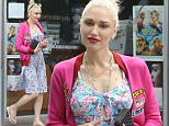 *EXCLUSIVE* West Hollywood, CA - Gwen Stefani shows off a new kind of style after getting her nails done at her favorite nail spa, Planet Nails & Spa. Gwen looks very Spring Worthy in a bright pink jacket, blue and pink floral print dress, and flip flops.\nAKM-GSI      May 20, 2016\nTo License These Photos, Please Contact :\nSteve Ginsburg\n(310) 505-8447\n(323) 423-9397\nsteve@akmgsi.com\nsales@akmgsi.com\nor\nMaria Buda\n(917) 242-1505\nmbuda@akmgsi.com\nginsburgspalyinc@gmail.com