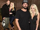 WEST HOLLYWOOD, CA - MAY 20:  Spencer and Heidi Pratt attend Brody Jenner And Kaitylnn Carter's Engagement Dinner at Roku on May 20, 2016 in West Hollywood, California.  (Photo by Vivien Killilea/Getty Images)