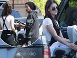 *EXCLUSIVE* Calabasas, CA - Louis Tomlinson pulled into a parking lot to make a quick switch with ex girlfriend and mother of his child Freddie Reign Tomlinson, Briana Jungwirth. There were no hugs, or chit chat, but just a cordial acknowledgment of each other while the carseat went from one SUV to another. They look civil and seem to be eager to make co-parenting Freddie Reign work. Louis also joins the infamous unauthorized use of a handicap spot club!    AKM-GSI       May 19, 2016 To License These Photos, Please Contact : Steve Ginsburg (310) 505-8447 (323) 423-9397 steve@akmgsi.com sales@akmgsi.com or Maria Buda (917) 242-1505 mbuda@akmgsi.com ginsburgspalyinc@gmail.com