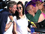 20 May 2016. May 20, 2016 - Ibiza, SPAIN - Lapo Elkann and new girlfriend in holidays in Ibiza. Credit: GoffPhotos.com   Ref: KGC-149/037719 **UK Sales Only**