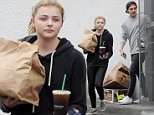 Chlo? Grace Moretz has her hands full while getting take-out Bel Air Deli in Los Angeles with boyfriend Brooklyn Beckham\nFeaturing: Chlo? Grace Moretz, Brooklyn Beckham\nWhere: Los Angeles, California, United States\nWhen: 20 May 2016\nCredit: Cousart/JFXimages/WENN.com\n**Not Available In Australia and New Zealand**