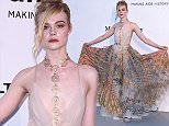 Mandatory Credit: Photo by David Fisher/REX/Shutterstock (5689674dy) Elle Fanning amfAR's 23rd Cinema Against AIDS Gala, Arrivals, Cannes, France - 19 May 2016