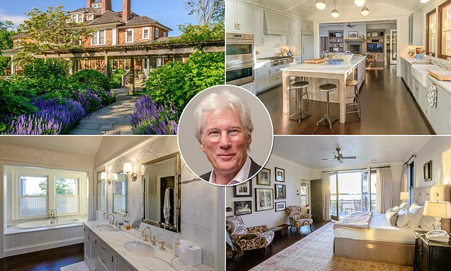 Richard Gere knocks $11m off asking price of his bay-front Hamptons estate