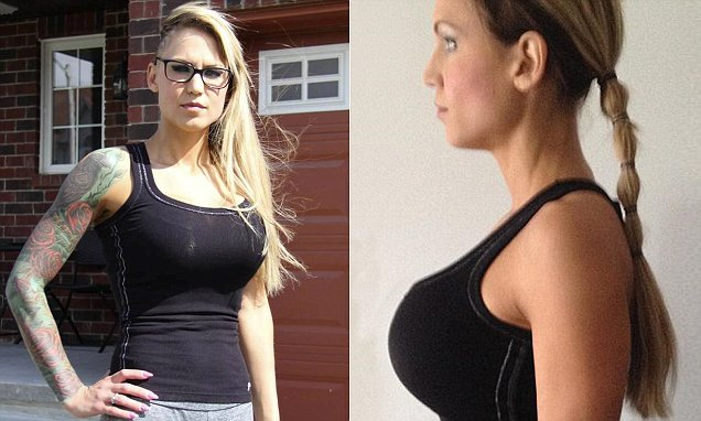 Woman claims her gym discriminated against her because of her large breasts, after staff