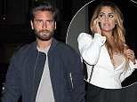 Scott Disick leaving Hakkasan restaurant with an attractive female companion following him shortly after, to avoid being pictured together\nFeaturing: Scott Disick\nWhere: London, United Kingdom\nWhen: 20 May 2016\nCredit: Will Alexander/WENN.com