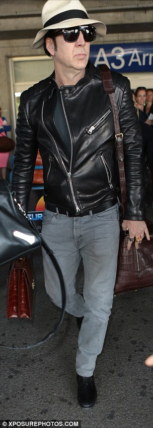 Make way! Hollywood favourite Nicolas Cage was causing a stir as he made late arrival at the Cannes Film Festival,