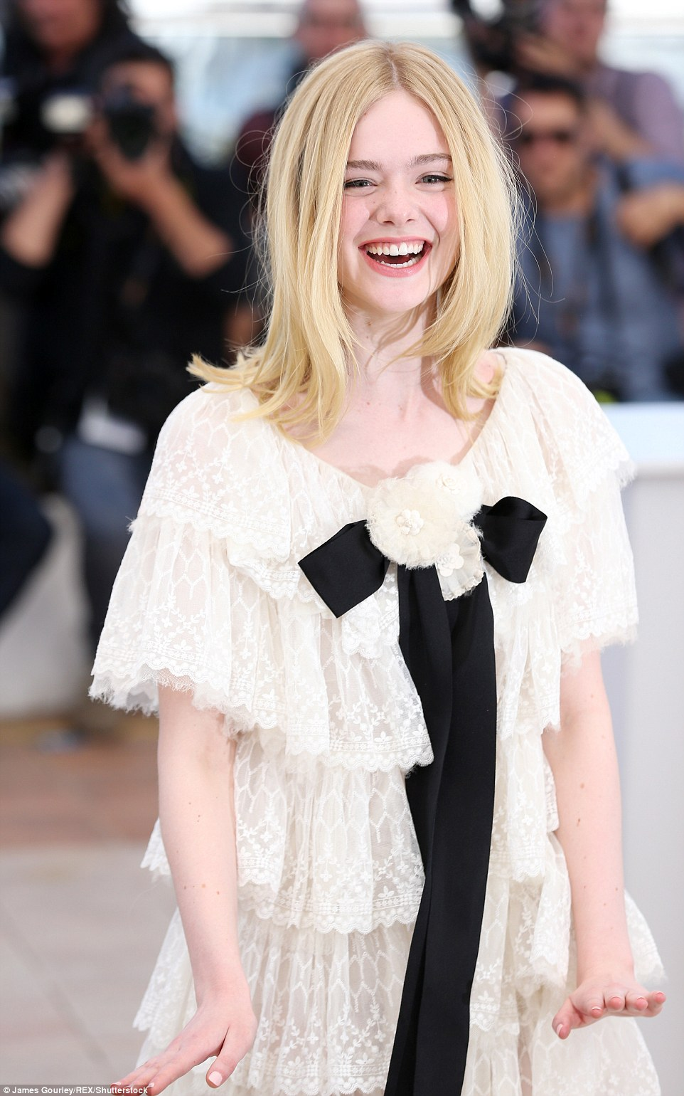 Hollywood favourite: Elle has been working in the film industry for years and is a firm favourite with directors