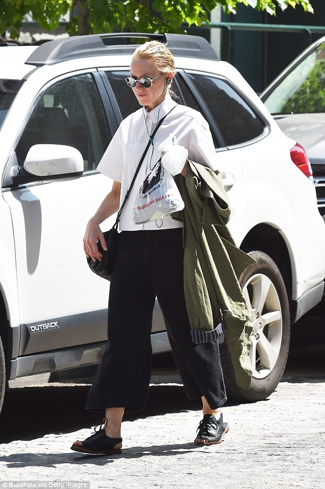 Style icon: Naomi Watts showed off her sophisticated fashion sense as she ran some errands inManhattan over the weekend