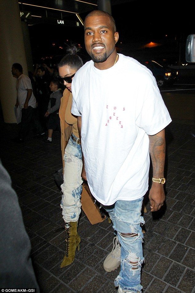 Self-belief: Kanye explained that he is the Michael Jackson of the fashion world opening doors for those who come after him and likening himself to other greats such as Picasso, Walt Disney and Steve Jobs