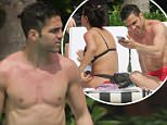 EXCLUSIVE: Chelsea midfielder Cesc Fabregas shirtless on holiday in Miami Beach, FL. Cesc is enjoying a summer holiday with wife Daniella Semaan and their daughter Lia before the 2016 Euro Cup.\n\nPictured: Cesc Fabregas\nRef: SPL1283344  180516   EXCLUSIVE\nPicture by: Pichichi / Splash News\n\nSplash News and Pictures\nLos Angeles: 310-821-2666\nNew York: 212-619-2666\nLondon: 870-934-2666\nphotodesk@splashnews.com\n