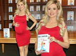 Mandatory Credit: Photo by KCR/REX/Shutterstock (5691359h)\nHolly Madison\nHolly Madison 'The Vegas Diaries' book signing, Las Vegas, America - 20 May 2016\n