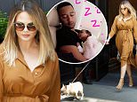 Mandatory Credit: Photo by Startraks Photo/REX/Shutterstock (5691297a)\nChristine Teigen with Dog Pippa\nChrissy Teigen and John Legend out and about, New York, America - 20 May 2016\nChrissy Teigen and John Legend Leaving Home with Baby Luna\n