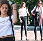 EXCLUSIVE: Cindy Crawford and Daughter Kaia are seen doing some shopping in Malibu.  Pictured: Cindy Crawford  Ref: SPL1281268  120516   EXCLUSIVE Picture by: Splash News  Splash News and Pictures Los Angeles: 310-821-2666 New York: 212-619-2666 London: 870-934-2666 photodesk@splashnews.com