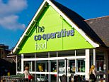 EMNNF2 Co-operative Food supermarket exterior in Seaton Devon UK. Image shot 2015. Exact date unknown.