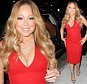 New York, NY - After a full day attending events, Mariah Carey heads to a restaurant to enjoy a quiet dinner in the Big Apple, the famous singer wore a sexy red dress showing some cleavage.\nAKM-GSI       May 16, 2016\nTo License These Photos, Please Contact :\nSteve Ginsburg\n(310) 505-8447\n(323) 423-9397\nsteve@akmgsi.com\nsales@akmgsi.com\nor\nMaria Buda\n(917) 242-1505\nmbuda@akmgsi.com\nginsburgspalyinc@gmail.com