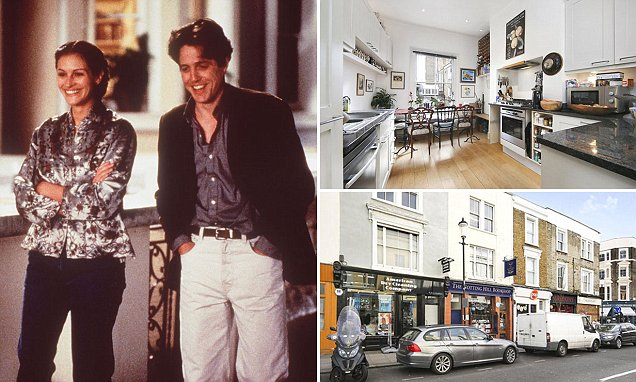 Notting Hill flat above bookshop from Julia Roberts film on sale for £1.5M