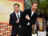 19.May.2016 - London - UK Russell Crowe and Ryan Gosling The Nice Guys - UK Film Premiere at the Odeon Leicester Square, London. BYLINE MUST READ: TIMMS/XPOSUREPHOTOS.COM ***UK CLIENTS - PICTURES CONTAINING CHILDREN PLEASE PIXELATE FACE PRIOR TO PUBLICATION *** UK CLIENTS MUST CALL PRIOR TO TV OR ONLINE USAGE PLEASE TELEPHONE 0208 344 2007**