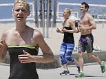 Claire Danes spotted jogging by the beach with her boyfriend in Santa Monica\n\nPictured: Claire Danes\nRef: SPL1286925  210516  \nPicture by: Splash News\n\nSplash News and Pictures\nLos Angeles: 310-821-2666\nNew York: 212-619-2666\nLondon: 870-934-2666\nphotodesk@splashnews.com\n