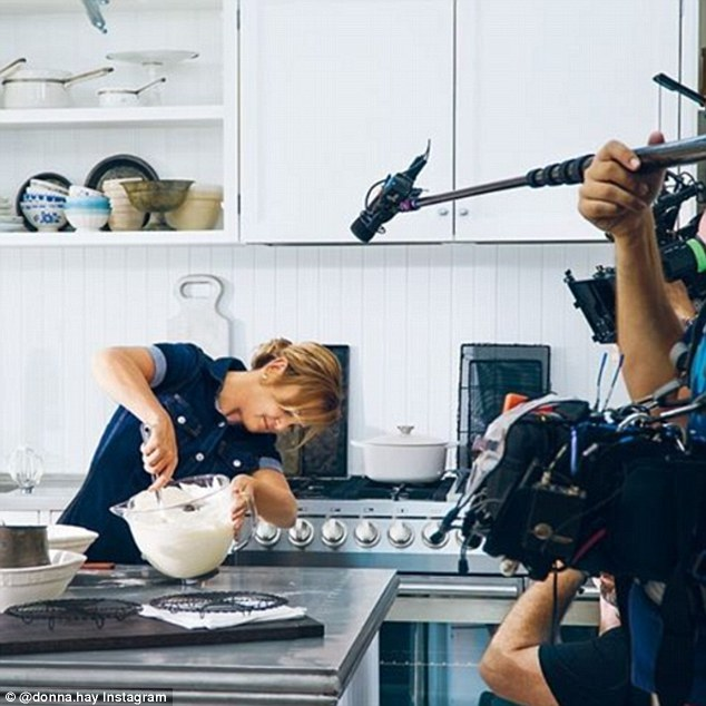 Opening her home: The Australian food doyenne will invite viewers into her home and personal life for the first time, as she revealed she will be starring in her own reality television show