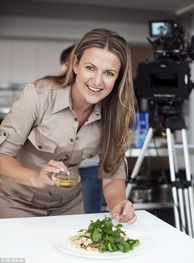 Successful: The culinary queen has penned a number of best-selling cookbooks during her prolific career as well as appeared on a number of TV cooking shows