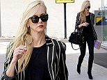 Picture Shows: Kimberly Stewart  May 20, 2016    Socialite Kimberly Stewart was spotted shopping in Los Angeles, California. She was wearing a black and white striped jacket over a black shirt and black jeans.    Non Exclusive  UK RIGHTS ONLY    Pictures by : FameFlynet UK © 2016  Tel : +44 (0)20 3551 5049