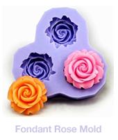 Fondant Rose Mold