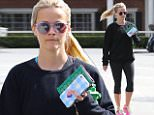 """eURN: AD*207101755  Headline: Howdy Y'all! Reese Witherspoon hits the gym Caption: Brentwood, CA - Reese Witherspoon visits the gym on Saturday morning. The 40-year-old actress is wearing black leggings paired with a black sweatshirt and pink sneakers. Reese accessorizes with her own products by Draper James. Reese is carrying a """"Howdy Y'all"""" phone case and a perforated green wallet    AKM-GSI      May 21, 2016 To License These Photos, Please Contact : Steve Ginsburg (310) 505-8447 (323) 423-9397 steve@akmgsi.com sales@akmgsi.com or Maria Buda (917) 242-1505 mbuda@akmgsi.com ginsburgspalyinc@gmail.com  Photographer: FANA  Loaded on 21/05/2016 at 18:26 Copyright:  Provider: FANA/AKM-GSI  Properties: RGB JPEG Image (20447K 2720K 7.5:1) 2181w x 3200h at 72 x 72 dpi  Routing: DM News : GeneralFeed (Miscellaneous) DM Showbiz : SHOWBIZ (Miscellaneous) DM Online : Online Previews (Miscellaneous), CMS Out (Miscellaneous)  Parking:"""