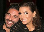 ***EXCLUSIVE***\n\n**DOUBLE SPACE RATES** **FOR ONLINE USAGE PLEASE CALL TO NEGOTIATE**\n\nDUBAI, UNITED ARAB EMIRATES - DECEMBER 14: ACTRESS Eva Longoria looks lovestruck as she leans in for a kiss with husband-to-be Jose Antonio Baston during a glitzy private engagement party in Dubai. The former Desperate Housewife was joined by around 20 friends on Monday (Dec 14) night at Sass Cafe Dubai - an upmarket restaurant in Dubai's financial district with views of the world's tallest building, the Burj Khalifa. Guests sipped on Cristal champagne and tucked into a fine dining menu to celebrate Longoria's engagement to Baston, the president of Televisa, one of the largest media companies in Latin America, before celebrating with sparklers. Longoria, 40, who is currently starring in Telenovela, announced her engagement on Instagram on Sunday - revealing that Baston had proposed during their Dubai break and showcasing a ruby engagement ring.\n\nPHOTOGRAPH BY Barcroft Media\n\nUK Office, Londo