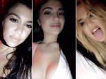 Kylie Jenner shares Snapchat on Instagram