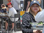 Picture Shows: Chloe Moretz  May 21, 2016\n \n 'The 5th Wave' Chloe Moretz was spotted on a date with her boyfriend with Brooklyn Beckham. The two appeared to be eating a salad for lunch.\n \n Non-Exclusive\n UK RIGHTS ONLY\n \n Pictures by : FameFlynet UK © 2016\n Tel : +44 (0)20 3551 5049\n Email : info@fameflynet.uk.com