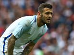 Jack Wilshere of England during the International friendly match between England and Turkey played at The Etihad Stadium, Manchester on May 22nd 2016