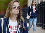 Olivia Wilde seen wearing a blue hoodie and no makeup in Brooklyn, New York City.\n\nPictured: Olivia Wilde\nRef: SPL1285101  210516  \nPicture by: Robert O'neil/Splash News\n\nSplash News and Pictures\nLos Angeles: 310-821-2666\nNew York: 212-619-2666\nLondon: 870-934-2666\nphotodesk@splashnews.com\n