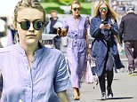 EXCLUSIVE: Dakota Fanning spotted wearing blue while using her smart phone in NYC.\n\nPictured: Dakota Fanning\nRef: SPL1286844  200516   EXCLUSIVE\nPicture by: J. Webber / Splash News\n\nSplash News and Pictures\nLos Angeles: 310-821-2666\nNew York: 212-619-2666\nLondon: 870-934-2666\nphotodesk@splashnews.com\n