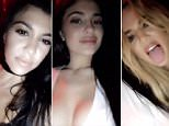 Kylie Jenner shares Snapchat on Instagram