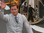 A dapper Brad Pitt shoots scenes for World War II movie Allied alongside his co-star Marion Cotillard as filming moves to Gran Canaria. Brad goes for a walk to see all his hundreds of fans who had been waiting all day for him. \n\nPictured: Brad Pitt\nRef: SPL1276974  210516  \nPicture by: Greg Sirc / Splash News\n\nSplash News and Pictures\nLos Angeles: 310-821-2666\nNew York: 212-619-2666\nLondon: 870-934-2666\nphotodesk@splashnews.com\n