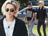 Exclusive... 52067530 Kristen Stewart was seen out shopping with her personal assistant and rumored girlfriend Alicia Cargile in Los Angeles, California on May 21, 2016. Kristen's ex Soko accused Kristen of stealing her pink eye shadow look at Cannes from her.\n***NO WEB USE W/O PRIOR AGREEMENT - CALL FOR PRICING*** Kristen Stewart was seen out shopping with her personal assistant and rumored girlfriend Alicia Cargile in Los Angeles, California on May 21, 2016. Kristen's ex Soko accused Kristen of stealing her pink eye shadow look at Cannes from her. ***NO WEB USE W/O PRIOR AGREEMENT - CALL FOR PRICING*** FameFlynet, Inc - Beverly Hills, CA, USA - +1 (310) 505-9876