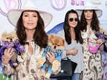 eURN: AD*207240411  Headline: World Dog Day Celebration - Arrivals Caption: WEST HOLLYWOOD, CA - MAY 22:  TV personalites Kyle Richards (L) and Lisa Vanderpump attend the World Dog Day Celebration at The City of West Hollywood Park on May 22, 2016 in West Hollywood, California.  (Photo by Matt Winkelmeyer/Getty Images) Photographer: Matt Winkelmeyer  Loaded on 22/05/2016 at 23:55 Copyright: Getty Images North America Provider: Getty Images  Properties: RGB JPEG Image (18545K 2212K 8.4:1) 2000w x 3165h at 96 x 96 dpi  Routing: DM News : GroupFeeds (Comms), GeneralFeed (Miscellaneous) DM Showbiz : SHOWBIZ (Miscellaneous) DM Online : Online Previews (Miscellaneous), CMS Out (Miscellaneous)  Parking: