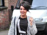 ***Fee Set at 150 GBP for the Set for Online Use*** EXCLUSIVE Stephanie Davis returns to her natural dark hair colour after trying out being a blonde for the past few months. The former Hollyoaks actress was all smiles as she left the salon clearly pleased with her new style. Featuring: Stephanie Davis Where: Liverpool, United Kingdom When: 21 May 2016 Credit: WENN.com