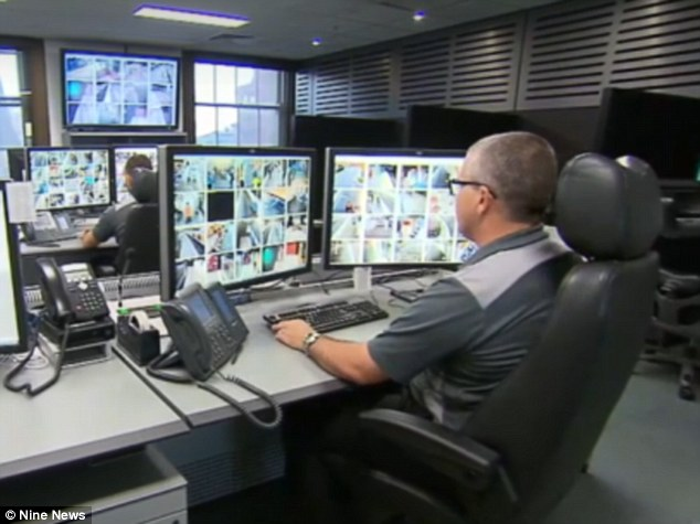 The team has access to numerous cameras with angles set up to capture high definition images all over Sydney trains and stations