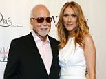 """LAS VEGAS, NV - JUNE 28:  Rene Angelil and Celine Dion arrive at the """"Veronic Voices"""" Premiere at Bally's Las Vegas on June 28, 2013 in Las Vegas, Nevada.  (Photo by Denise Truscello/Veronic Voices for Getty Images)"""