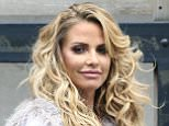 Mandatory Credit: Photo by REX/Shutterstock (5684992l) Katie Price Celebrities at the ITV studios, London, Britain - 16 May 2016