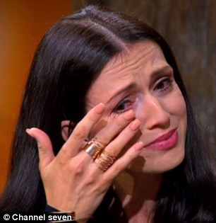 In tears: Michelle and Cassie both shed tears during the dramatic reunion episode