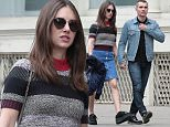 05/21/2016\nEXCLUSIVE Dave Franco spotted walking through Soho today holding hands with fiance Alison Brie. The couple have been engaged since August 2015 after Franco popped the question with a rose gold and diamond ring. The couple usually stays pretty quiet concerning their relationship, but Franco did open up recently about their plans for the big day.The actor stated that neither he nor Alison require a big event and that the couple may very well elope. \nPlease byline:TheImageDirect.com\n*EXCLUSIVE PLEASE EMAIL sales@theimagedirect.com FOR FEES BEFORE USE