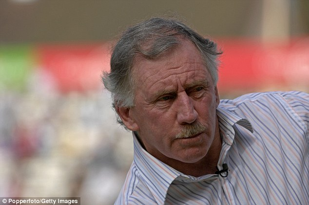 Gayle also took umbrage with former Australian captain Ian Chappell (pictured) for calling for a worldwide ban on him