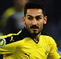 BERLIN, GERMANY - APRIL 20:  Ilkay Gündogan of Dortmund in action during the DFB Cup semi final match between Hertha BSC Berlin and Borussia Dortmund at the Olympic stadium on April 20, 2016 in Berlin, Germany.  (Photo by Stuart Franklin/Bongarts/Getty Images)