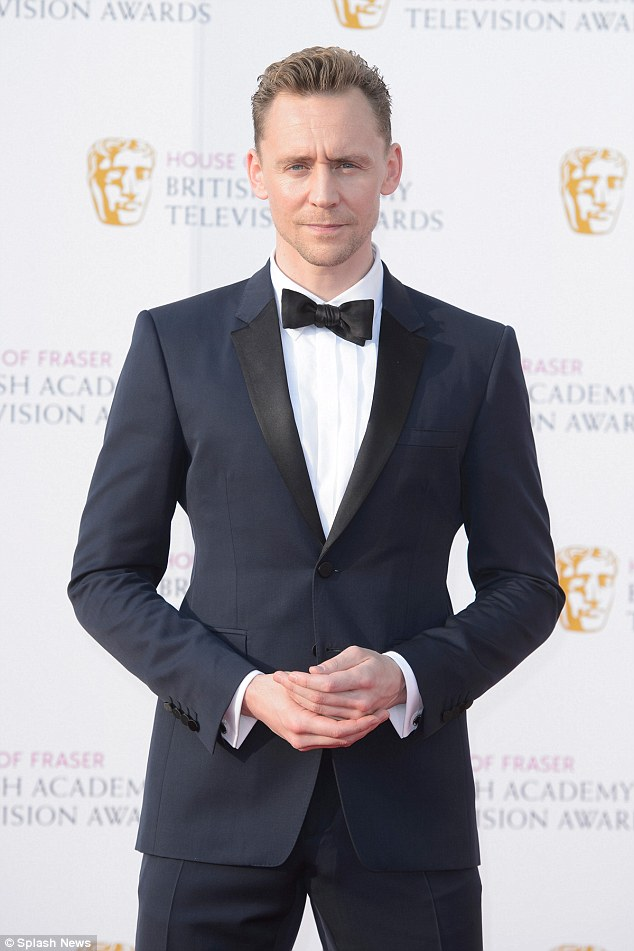 Other fan favourites: Other actors slated to replace the British heartthrob include Tom Hiddleston [pictured] and Idris Elba