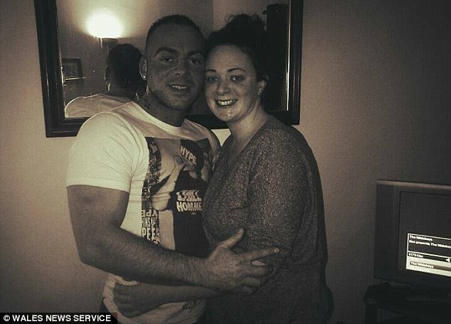 The court was told Thomas (pictured with boyfriend Sean Buckley) made a 999 telephone call to paramedics around 2.15pm on September 23, 2014 from her home in Rhondda, South Wales