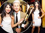 Picture Shows: Jasmin Walia  May 21, 2016    * Min Web Online / Fee £150 For Set *    Ross Worswick, Jasmin Walia and friends seen partying with Marketing Director Liam Norvalat at Cafe De Paris in London, United Kingdom.    * Min Web Online / Fee £150 For Set *    Exclusive All Rounder  WORLDWIDE RIGHTS  FameFlynet UK © 2016  Tel : +44 (0)20 3551 5049  Email : info@fameflynet.uk.com